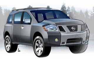 Nissan Pathfinder Armada 2004